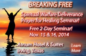 healing ministry, spiritual warfare deliverance ministry 2-day conference, casting out demons width=